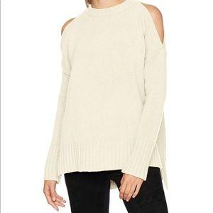 BCBGMAXAZRIA Steffe Cold Shoulder Sweater NWT
